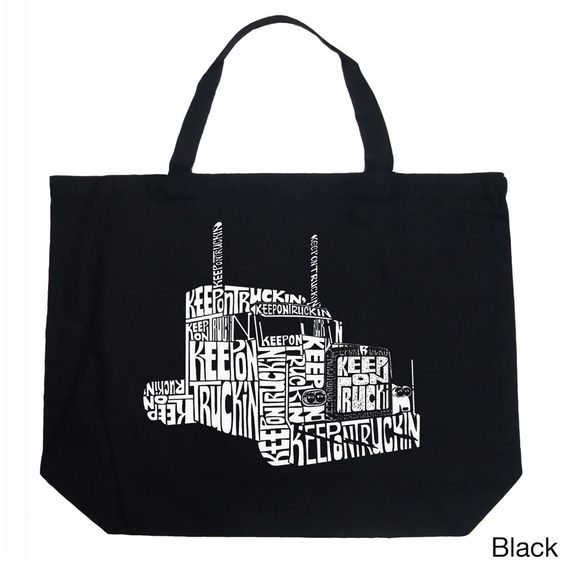 LA Pop Art Keep on Truckin Shopping Tote Bag