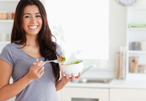 The 10 eating habits of fit people.