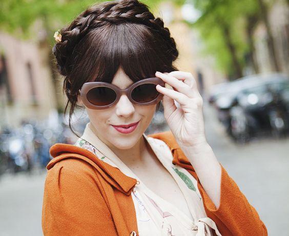milk maid braids and sunnies!: