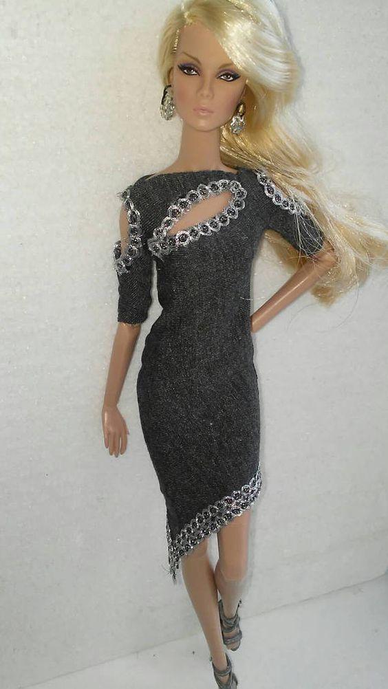Barbie dress fits all 12 inch fashion dolls integrity fashion