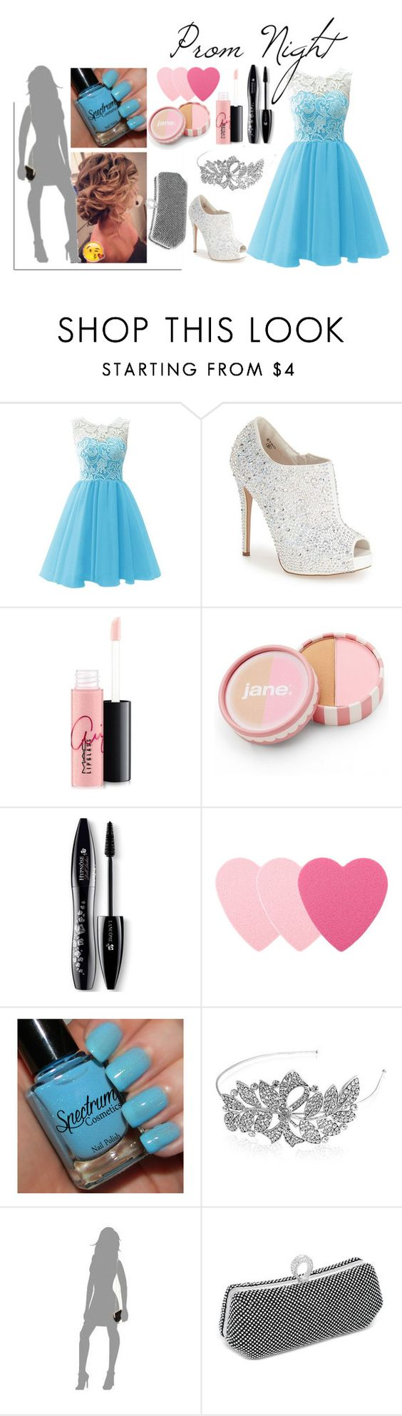 """Prom (contest)"" by ballet-pointe-turnout ❤ liked on Polyvore featuring Lauren Lorraine, MAC Cosmetics, jane, Lancôme, Sephora Collection, Bling Jewelry, La Regale, Jon Richard, women's clothing and women"