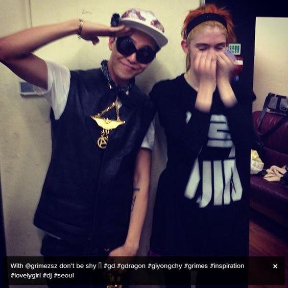 G-Dragon meets Grimes
