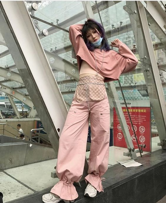 Neo-grunge street style trends for teen in 2018 / 2019