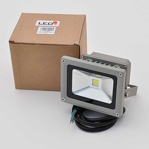 LEDwholesalers 10 Watt LED Waterpoof Outdoor Security Floodlight 85-264v Ac, 3701WH by LEDwholesalers. $19.99. LED Type:1 x 10.0 Watt LED Available Color: White 6000K View Angle:125 Degree Lumen:White 484 Watt:10 Watts Input Voltage:85-264V AC Current:150 mA Wiring: Yellow/Green to Ground (Green) Brown to Hot (Black) Blue to Neutral (White)