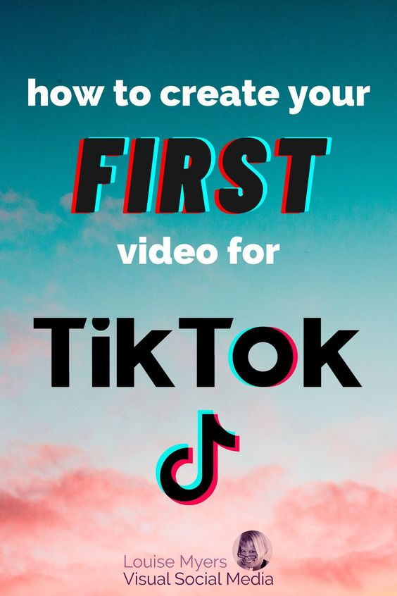 How To Easily Make Your First Tiktok Video Louisem Instagram Business Marketing Instagram Marketing Strategy Marketing Strategy Social Media