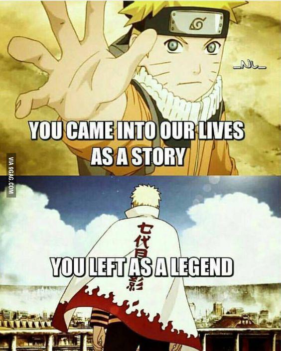 Naruto was my childhood inspiration