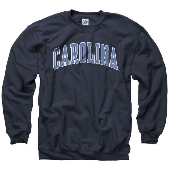 North Carolina Tar Heels Adult Classic Arch Crewneck Sweatshirt ($25) ❤ liked on Polyvore featuring tops, hoodies, sweatshirts, sweaters, college, crew neck sweatshirts, crew-neck tops, crew-neck sweatshirts, sport top and sports sweatshirts