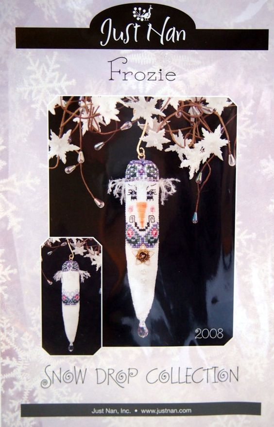 Frozie Snow Drop Collection By Just Nan Cross by NeedANeedle, $8.75