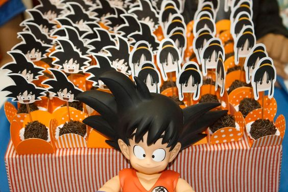 Dragon ball birthday party decoration dragon ball z for Decoration dragon ball