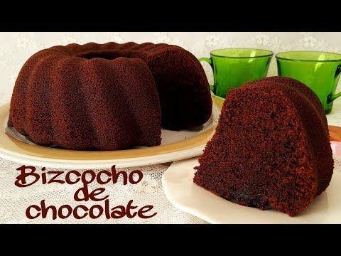 Recetas Bizcochos Chocolate