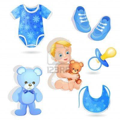 Conjunto De Elementos Para Un Bebé Niño