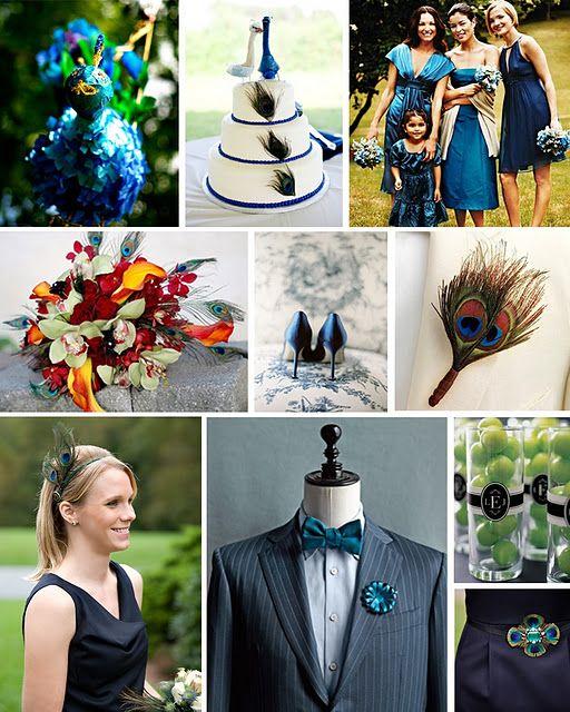#Peacock #Blue inspiration board
