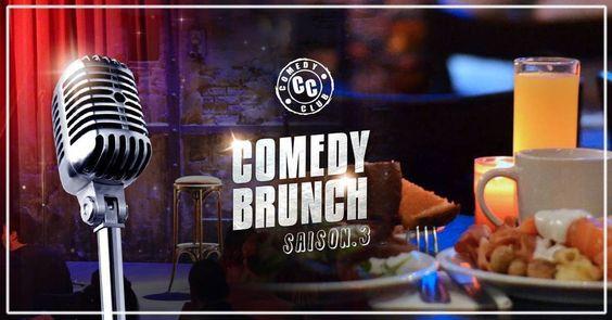 15 Octobre 2016 - Samedy - Comedy Brunch