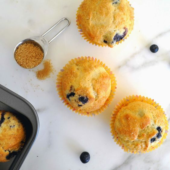 Homemade, butter-free muffins Soft, moist and filled with sweet blueberries  Cooking with Manuela: Butter-Free, Easy and Delicious Blueberry Muffins