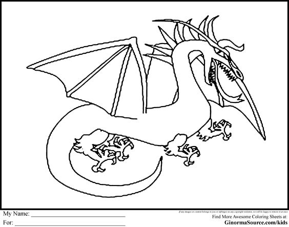 The Hobbit Coloring Pages Smaug the Dragon