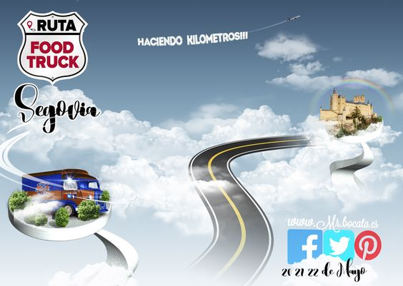 Participamos en la 1ª #RutaFoodtrucks por España! estaremos con los mejores food truck del momento recorriendo kilómetros para llevar a todos los rincones de España lo mejor de nuestra gastronomía!!! Apúntate los días 21, 22 y 23 de mayo en el exterior de la plaza de toros. Más info:  https://www.facebook.com/Ruta-Foodtrucks-274002016065710/