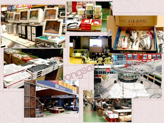 Chợ Yongsan Ảnh: visitkorea.org