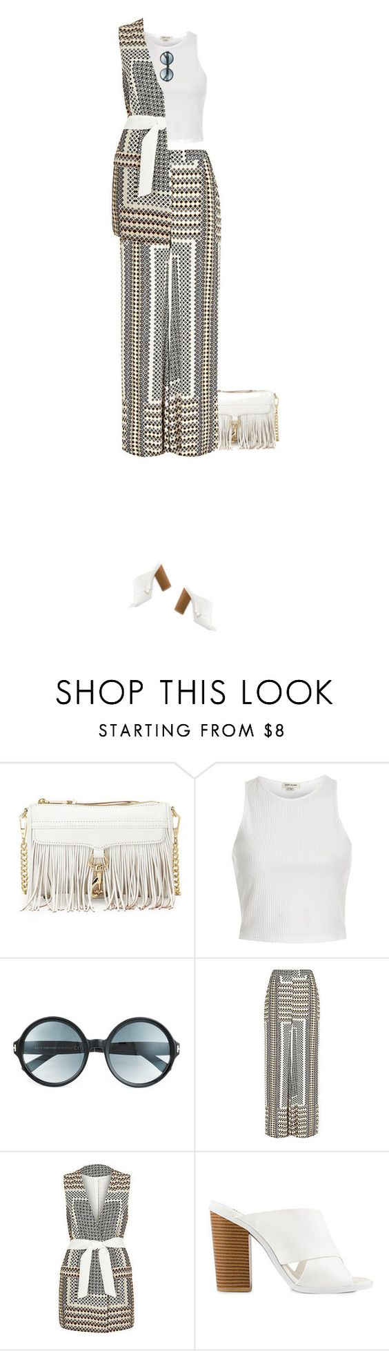 """Unbenannt #814"" by bexmuc ❤ liked on Polyvore featuring Rebecca Minkoff, River Island, Tom Ford and Packandgo"