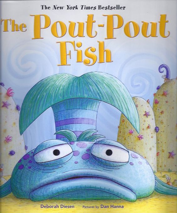 Activities about emotions/spreading feelings with the book - Pout Pout Fish:
