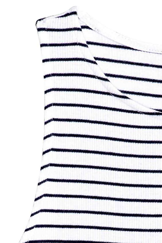 Vestido sem mangas em jersey | H&M