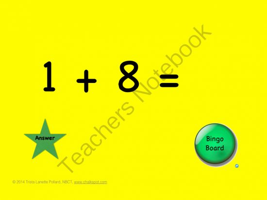 Free starting today! Addition Facts Bingo! Download until 10/25/14! http://www.teachersnotebook.com/product/TrisLane/chalkspot-counting-on-plus-1-addition-facts-bingo-power-point/ff/485/pinterest