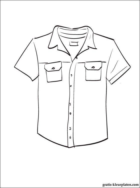 Quatang Gallery- Print Een Kleurplaat Overhemd Gratis Kleurplaten Kleurplaten Overhemd Kleding