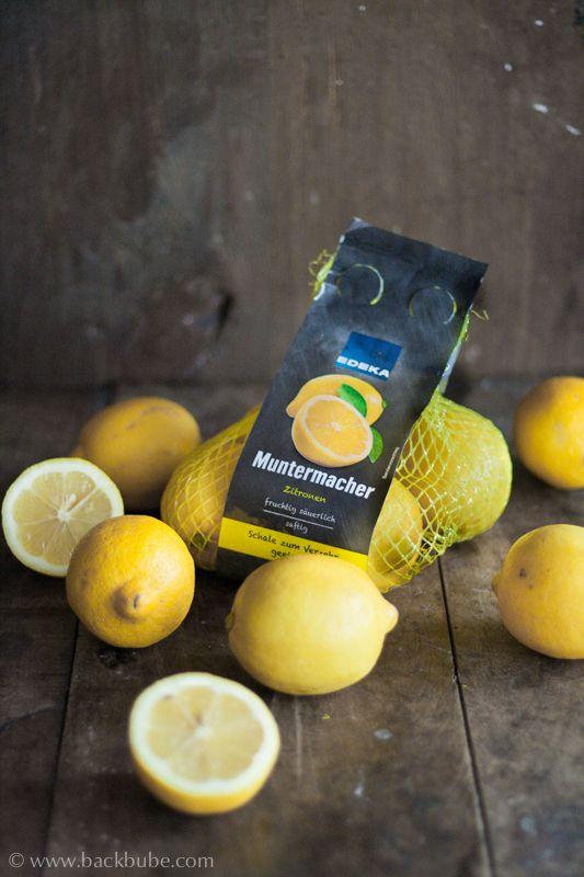 """EDEKA macht aus Zitronen """"Muntermacher"""" und ich mache aus den """"Muntermachern"""" eine feine Zitronentarte mit Baiserhaube"""