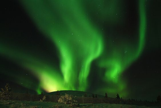Aurora Borealis in Lapland, Finland by Visit Finland, via Flickr