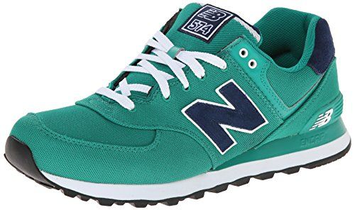 New Balance Herren 574 Pique Polo Pack Sneakers, Grün (Green), 50 EU  (*Partner-Link)