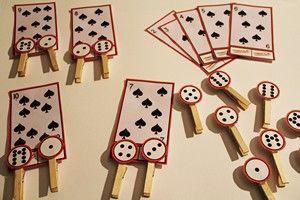 Jeux mathématiques pour apprendre à compter en maternelle.: