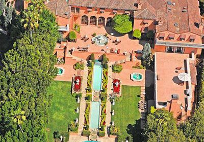 Former Celeb Home of William Randolph Hearst - North Beverly Drive, Beverly Hills, CA