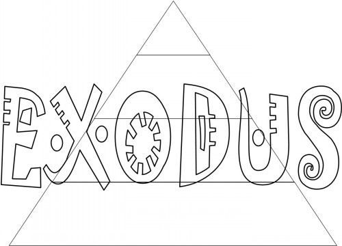 Bible Coloring Pages Books Of The All Them This Link Will Only Take You To Exodus Page Click On And Then