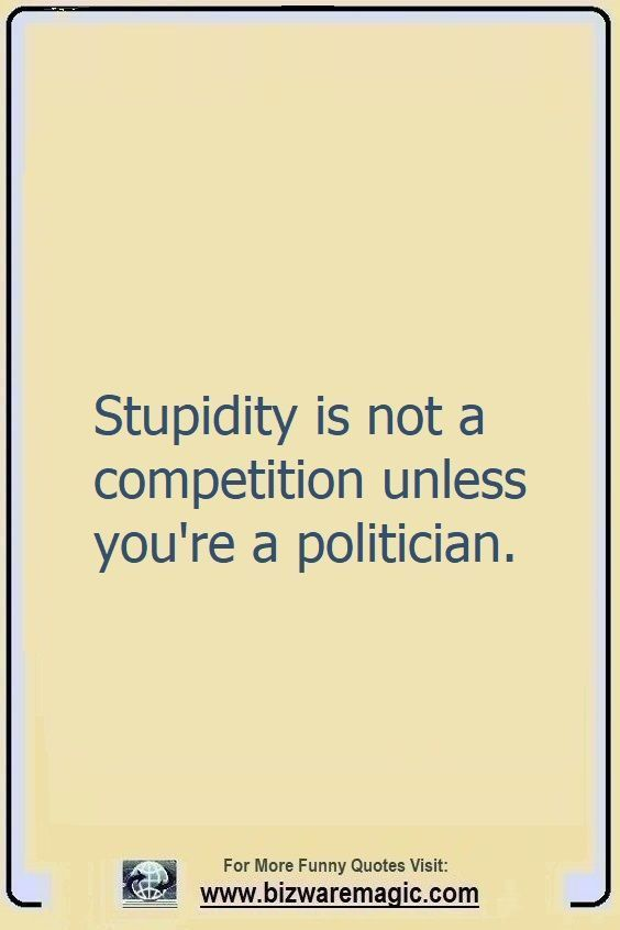 Stupidity Is Not A Competition Witty Quotes Funny Quotes Quotes