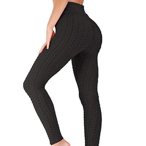 Sugar Pocket Womens Yoga Capris Running Pants Workout Legging Tummy Control with
