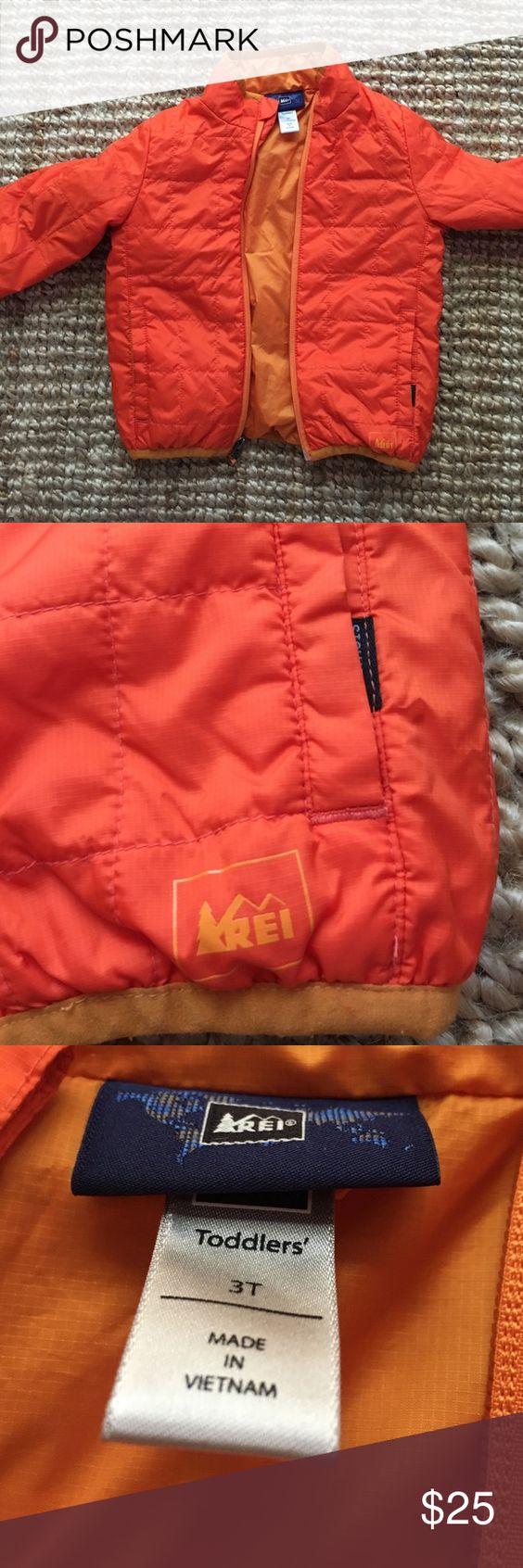 Orange REI jacket | Coats D and Jackets