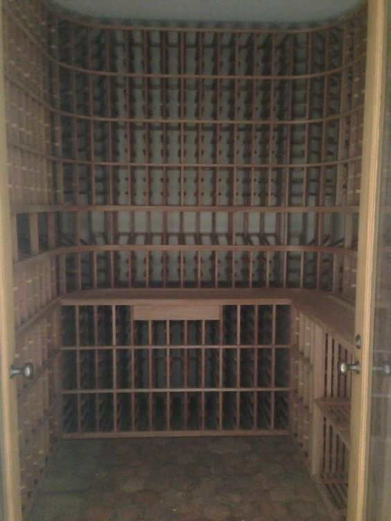 Working In La Has Its Benefits This Wine Cellar Is Larger