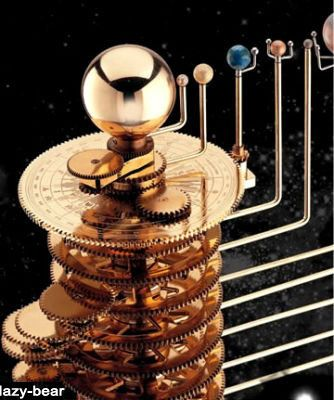 brass orrery solar system - photo #7