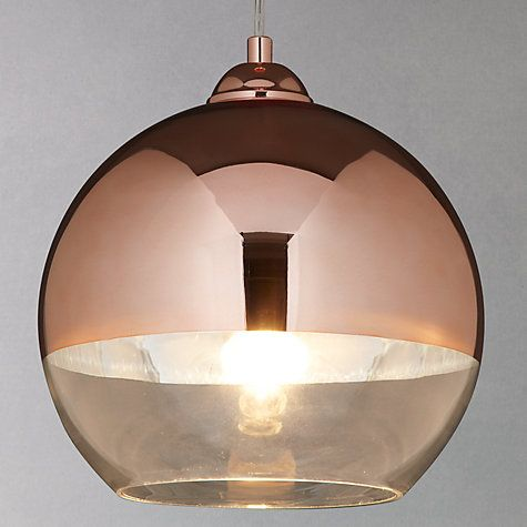 John lewis copper and ceilings on pinterest for Copper floor lamp john lewis