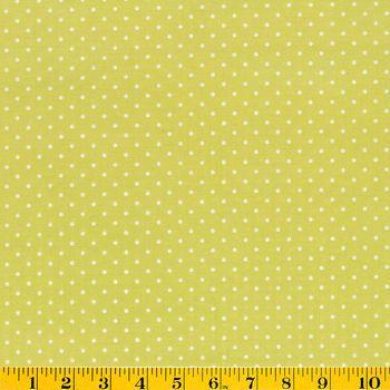 Premium Quilt Fabric- Stone Hill Dot Green