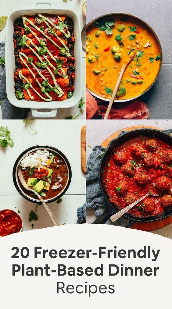 Freezer-Friendly Plant-Based Dinner Recipes | Minimalist Baker