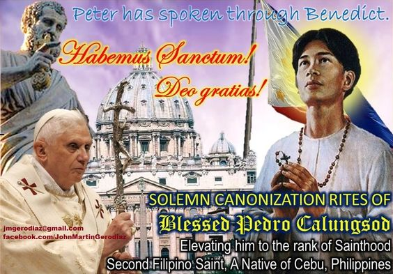 Blessed Pedro Calungsod - Pray for us!