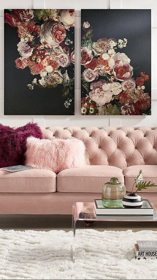Inspired By The Stunning Floral Artwork Of The Seventeenth Century Dutch Masters The Moody Blooms Of Our Cool Wall Art Floral Wall Art Prints Floral Wall Art
