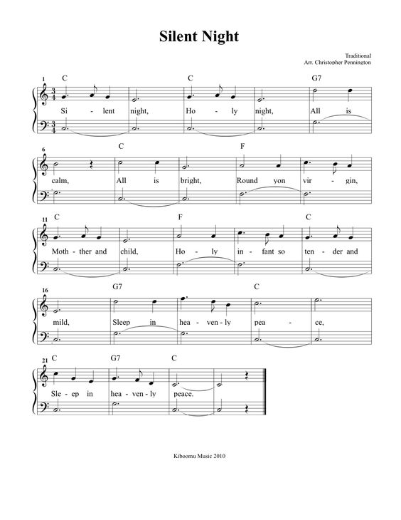 Piano piano chords silent night : Pinterest • The world's catalog of ideas
