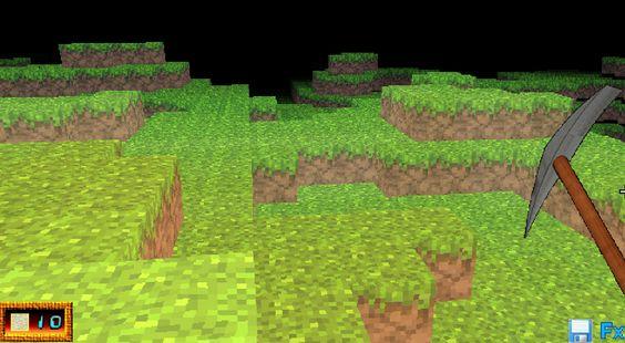 Juego parecido a Minecraft, donde eres como un minero que tienes que destruir bloques de tierra. ► http://www.ispajuegos.com/jugar8328-Miocraft.html