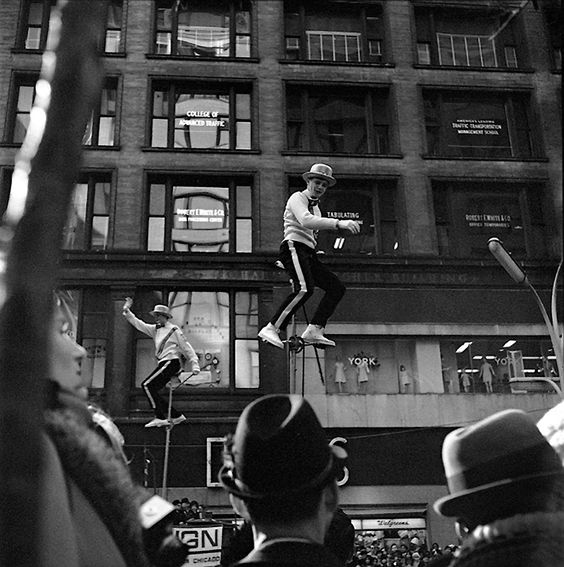 Vivian Maier - Men on wire:
