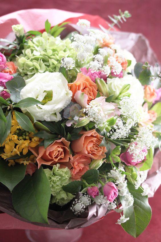 (有)花のセイカエン | 福島市花屋福島テルサ近く花束アレンジメントプリザーブドフラワーラン鉢観葉植物
