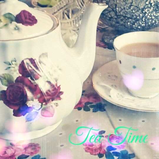 Tea Time. Love a cup of tea :) Drink so much tea a day. Quintessentially British.