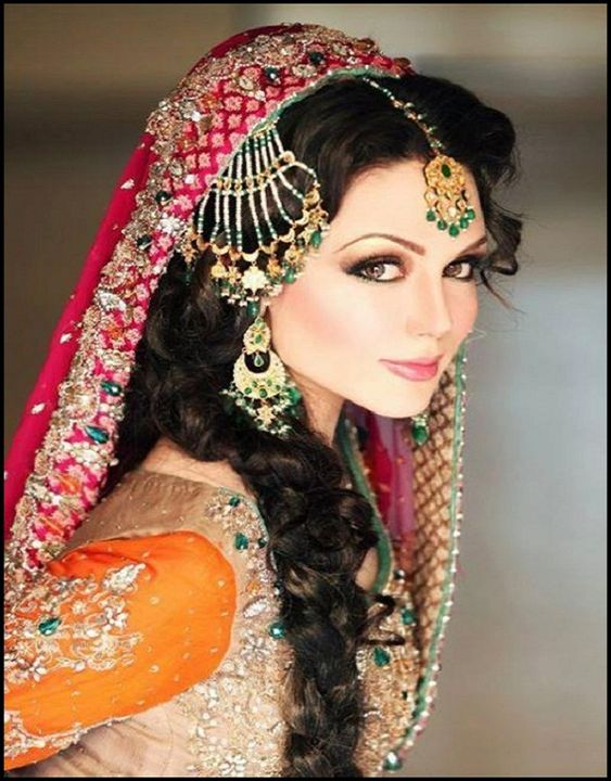 Groovy Romantic Bridal Hairstyles Indian Bridal Indian And Hairstyles Hairstyles For Men Maxibearus