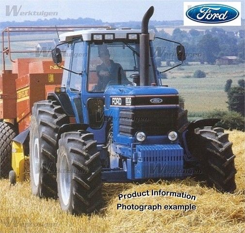 Pin By Drake Miller On Landbouwmachine S In 2020 Ford Tractors New Holland Ford Old Tractors