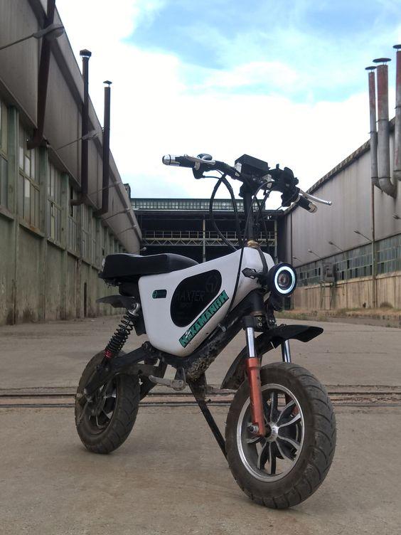 موتور اسکوتر برقی ایرانی هکستر